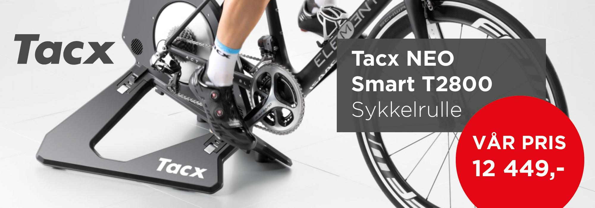 Kampanje Tacx NEO Smart T2800 Sykkelrulle